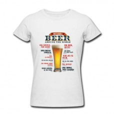 T-Shirt - How to order beer