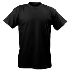 T-shirt for men, black, without drawing
