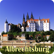 Fridge Magnet - Castle Albrechtsburg