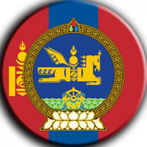 Магнит на холодильник герб на флаге
