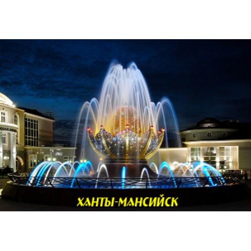 Ханты-Мансийск - фонтан Фаберже